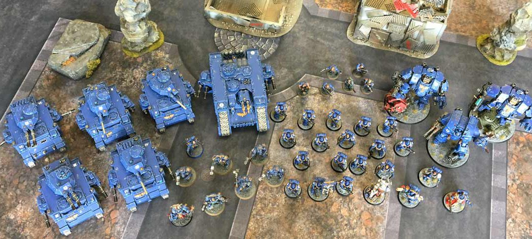 Ultramarines Primaris Marine Army