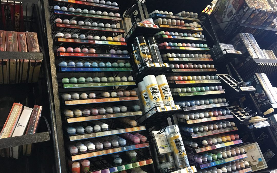Paint Range Has Grown