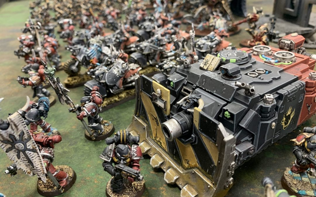 Chaos Space Marines Army