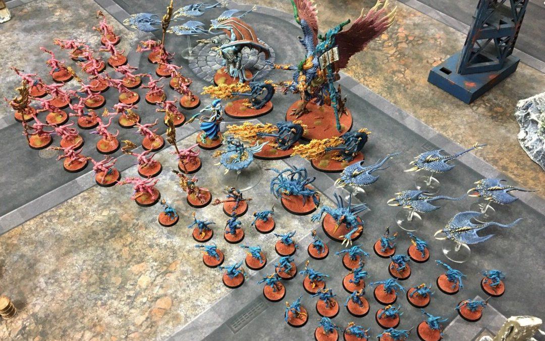 Tzeench Daemons Army!